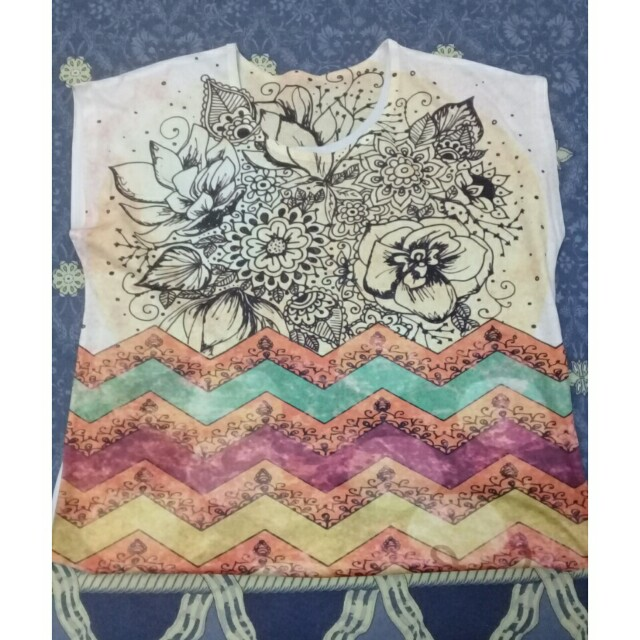 casual shirt flowery