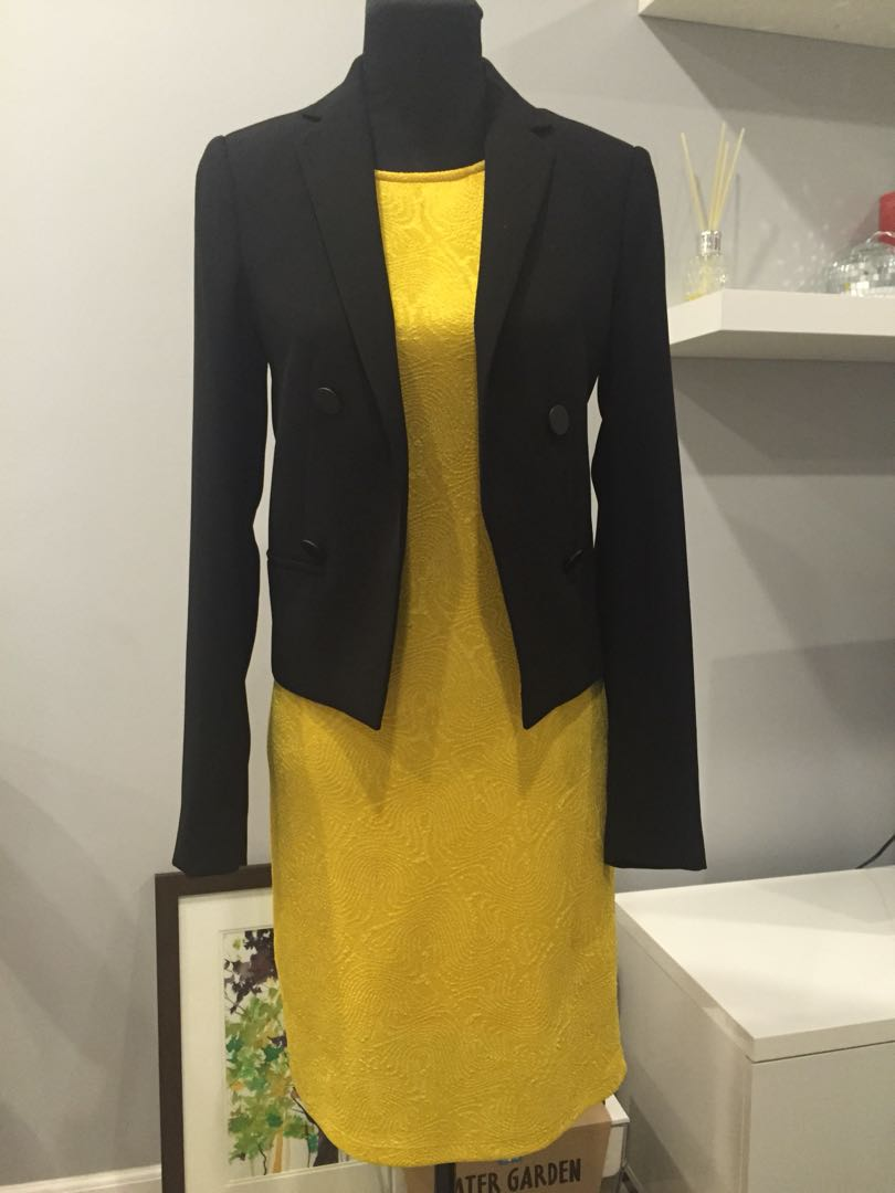 Celine yellow dress