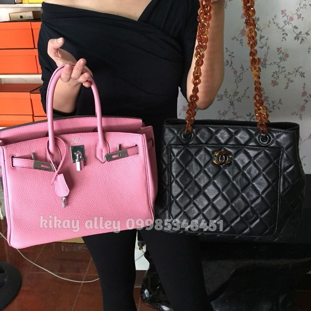 Chanel Hermes Package (Birkin 30 and Chanel Vintage)