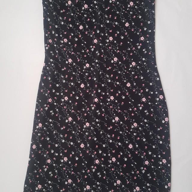 Charlotte Russe Floral Strapless Dress