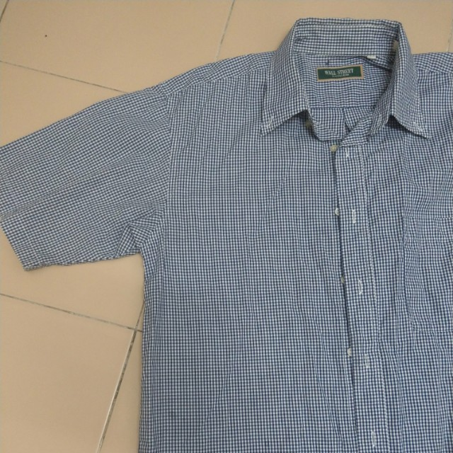 Checkered Shirt Size L