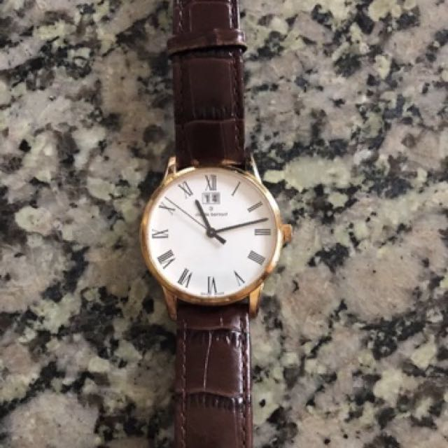 Claude Bernard Steel Automatic Date Men's Watch