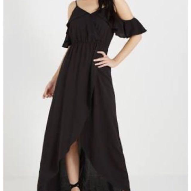 Cotton on Black could shoulder dress