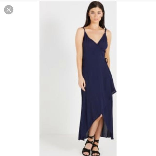 Cotton on wrap dress