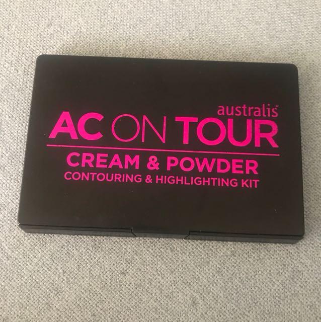 Cream and powder contour kit
