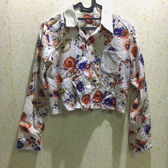 Crop Shirt Floral