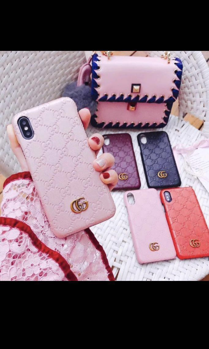 newest collection e6fa5 a7f7c Embossed Gucci iphone case po