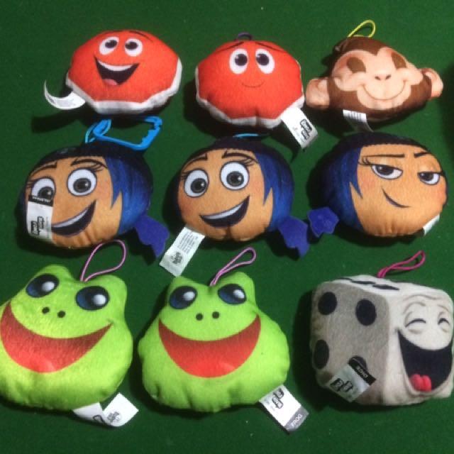 Emoji McDonald's toys