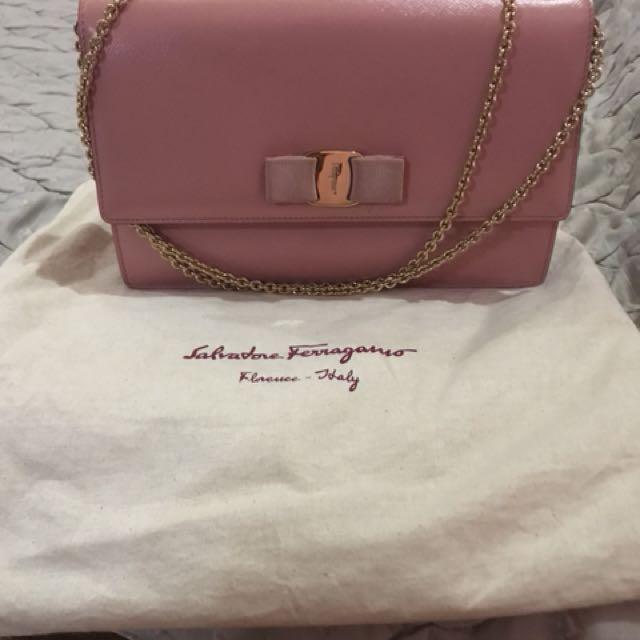 Ferragamo Ginny Bag - Blush Color
