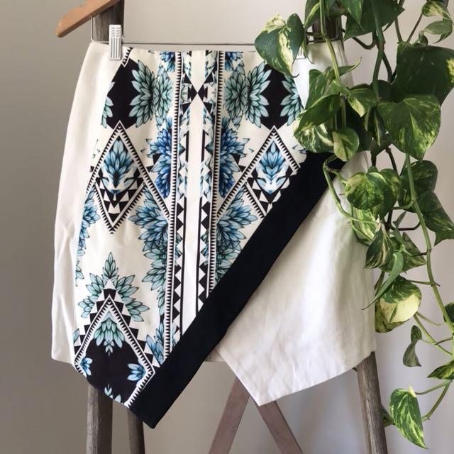 Finders keepers aztec mini skirt