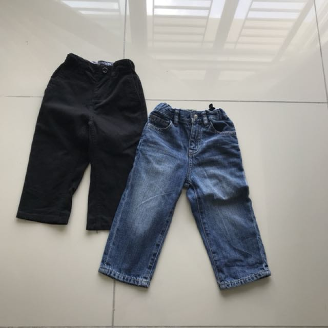 Gap jeans & pumpkin patch trousers