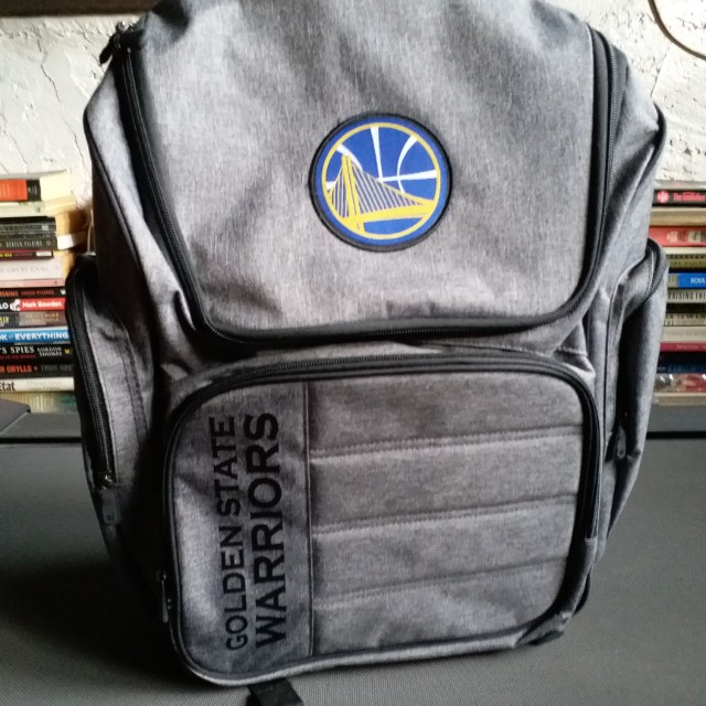 ... discount shop 0340e b133d Golden State Warriors Backpack with laptop  sleeve, Mens Fashion, Bags ... 043ea881fe