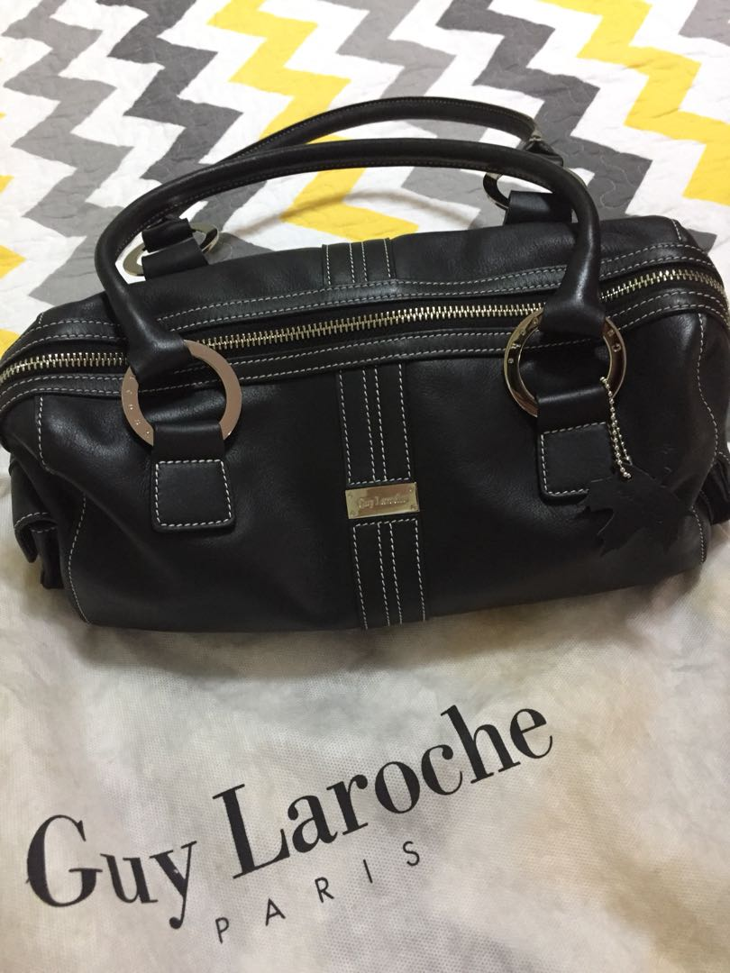 Guy Larosche black shoulder bag