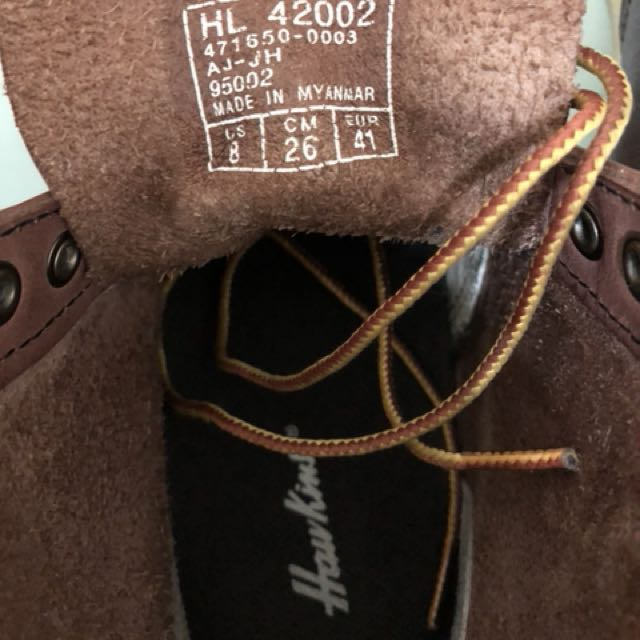 Hawkins US 8靴