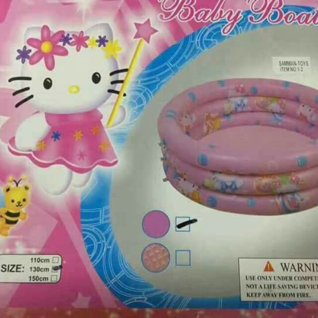 9bfd18c87 Hello kitty inflatable pool, Babies & Kids, Others on Carousell