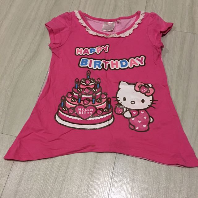 Hello Kitty Top 2 3T Babies Kids Girls Apparel On Carousell