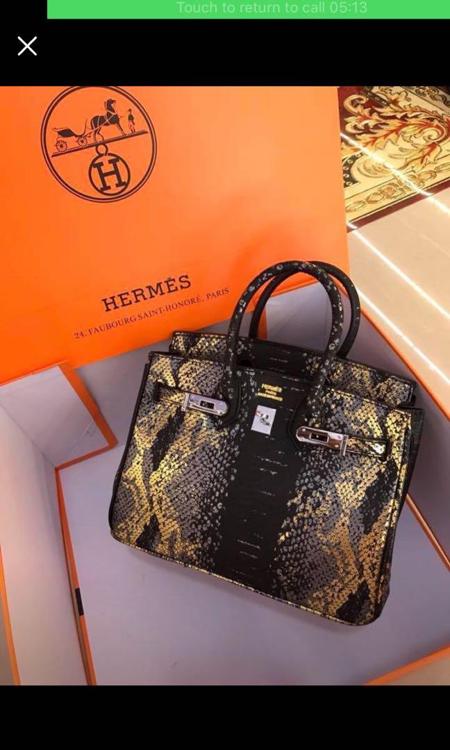 Hermes mini birkin