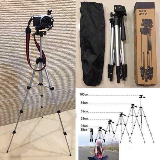Hf-3110A Professional Dslr Camera Tripod (SUPER NICE QUALITY!)and can be used on mobile phones!!!
