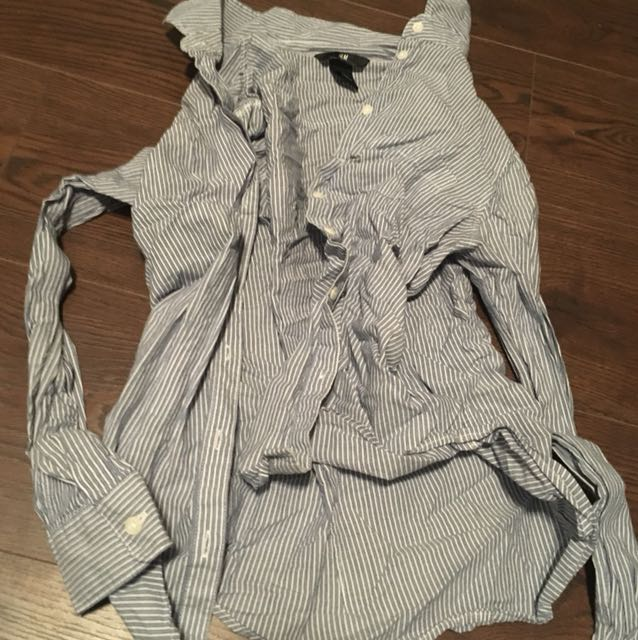 H&M button down blouse