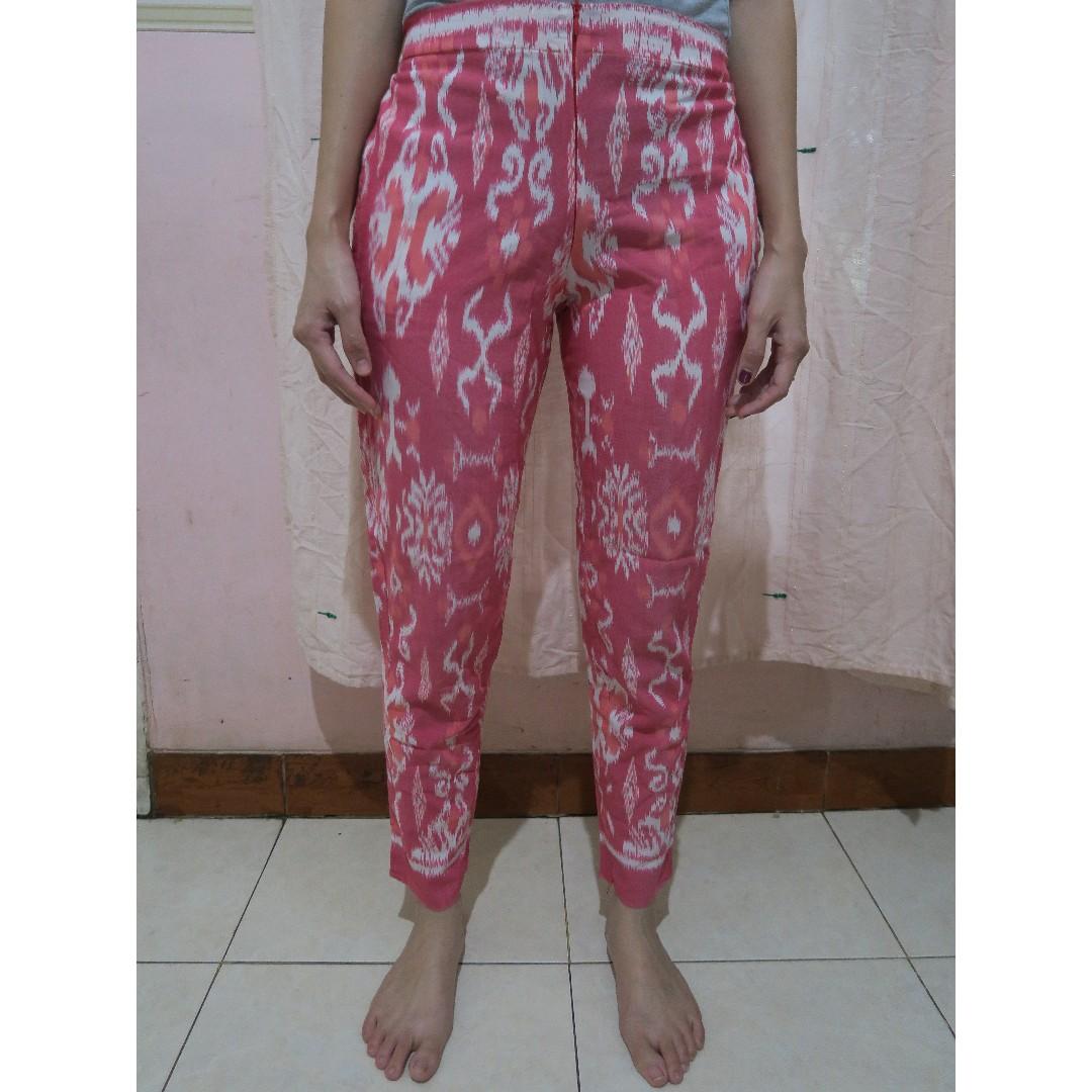 Ikat Pants Pink