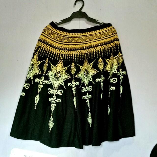 Indian inspired skirt
