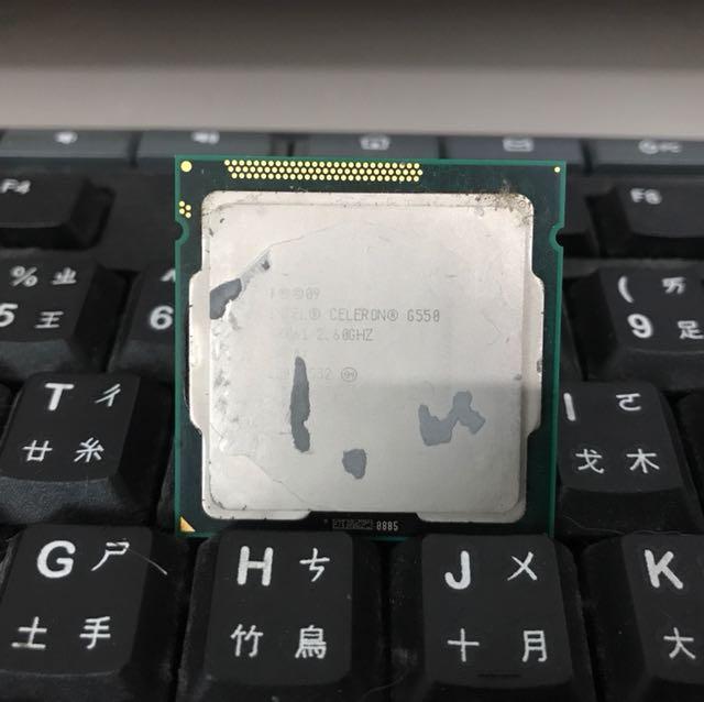 Intel G550