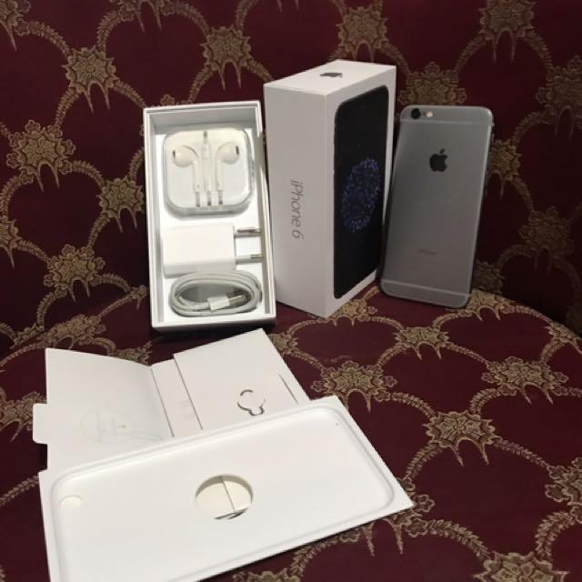 iphone 6 128gb Grey FU fullset ori Ex Resmi IBOX Bisa COD 2c78d88eda