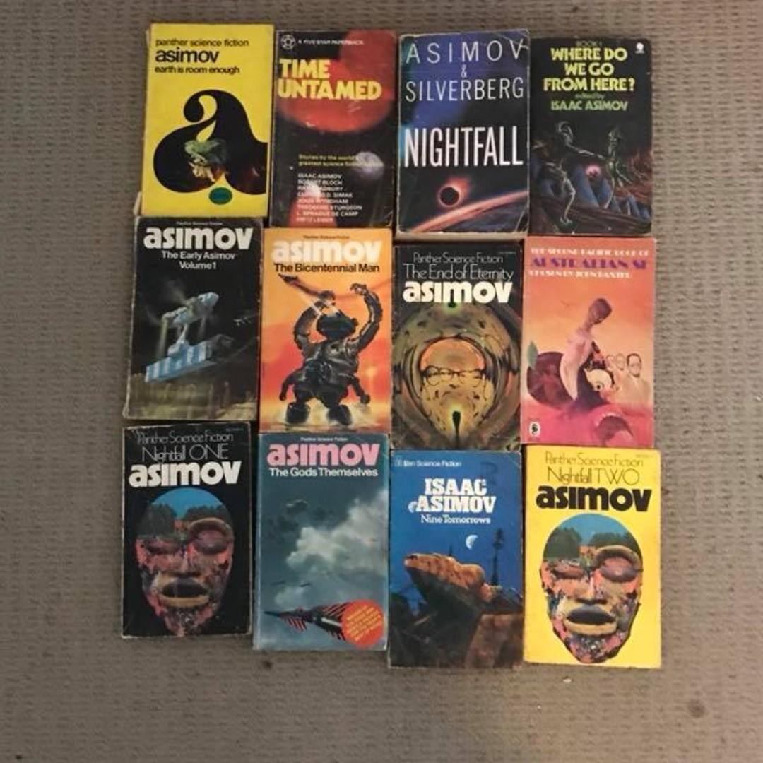 Isaac Asimov books collection