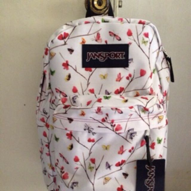 jansport white