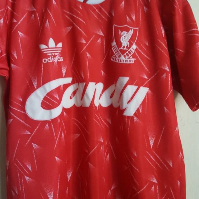 Jersey retro Liverpool 85-88 ori thailand size s