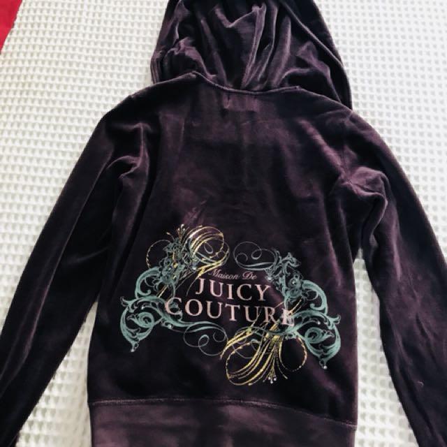 Juicy Couture Tracksuit HOODIE purple