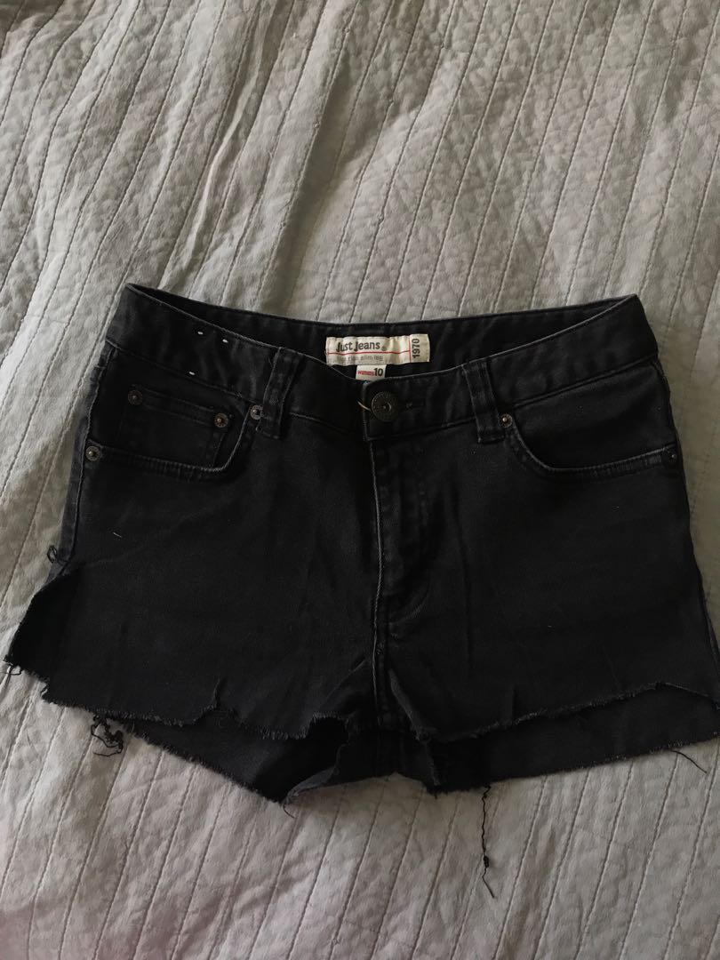 Just jeans denim cut offs