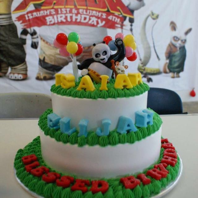 Kungfu Panda Birthday Cake Toppers Decorations Food Drinks