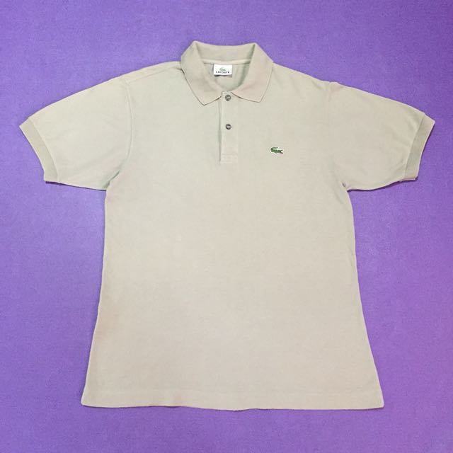 Lacoste Polo Shirt check 2nd photo for issue
