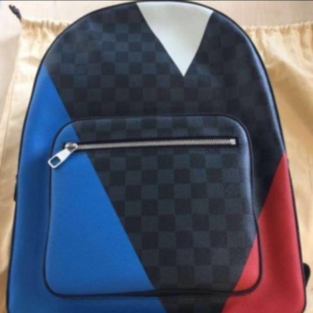 572cbf61c180 Louis Vuitton LV Limited Edition America Cup Josh Damier Cobalt ...