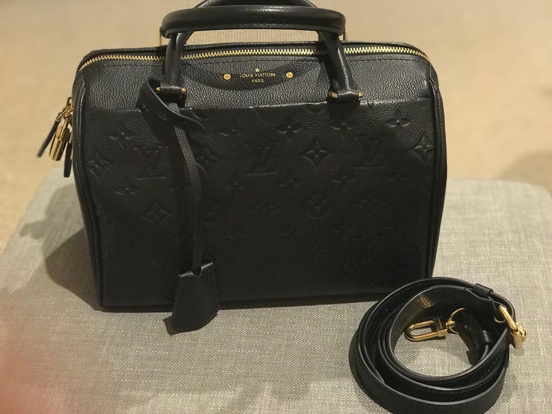 Louis Vuitton Speedy Empreinti