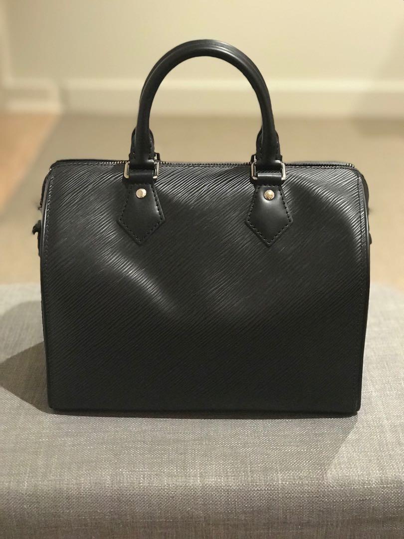 Louis Vuitton Speedy Epi Noir