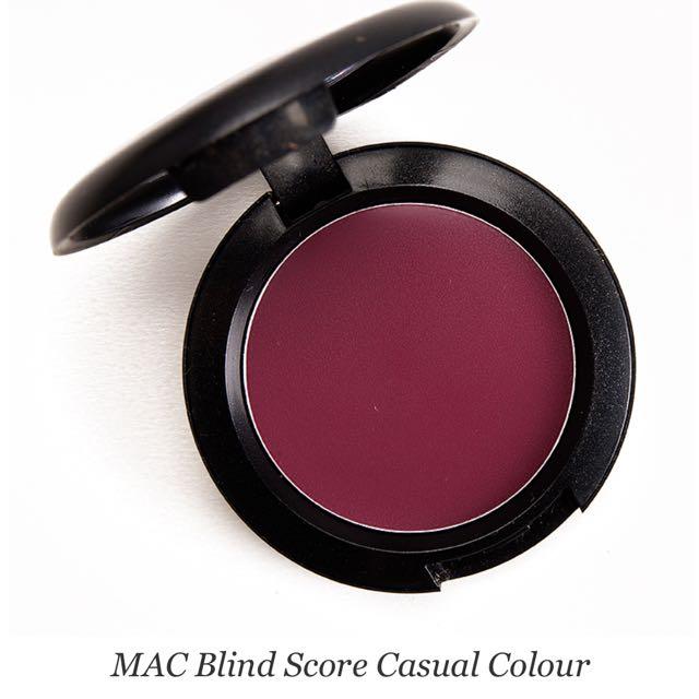MAC- Blind score lip and cheek colour