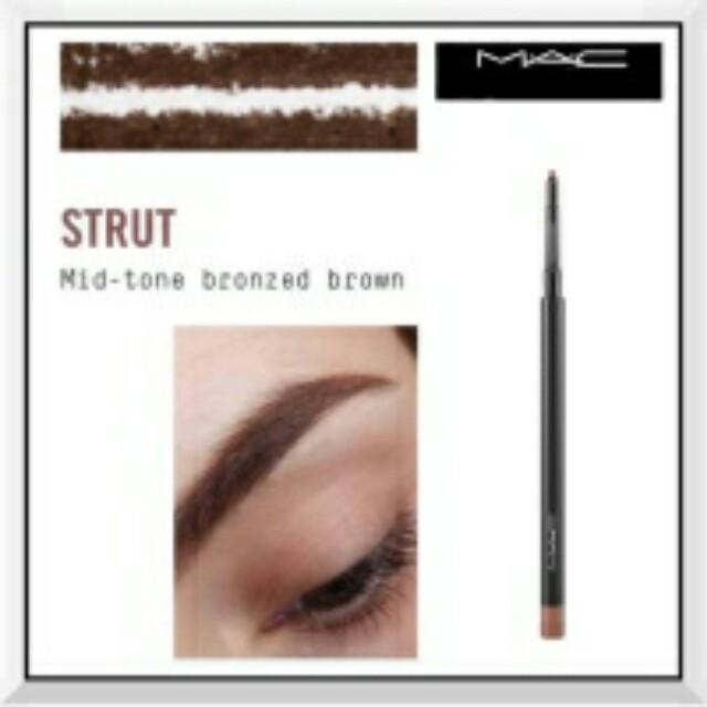 Mac eyebrow strut