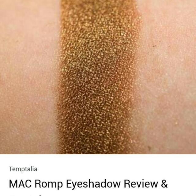 MAC single Eye Shadow (ORI)
