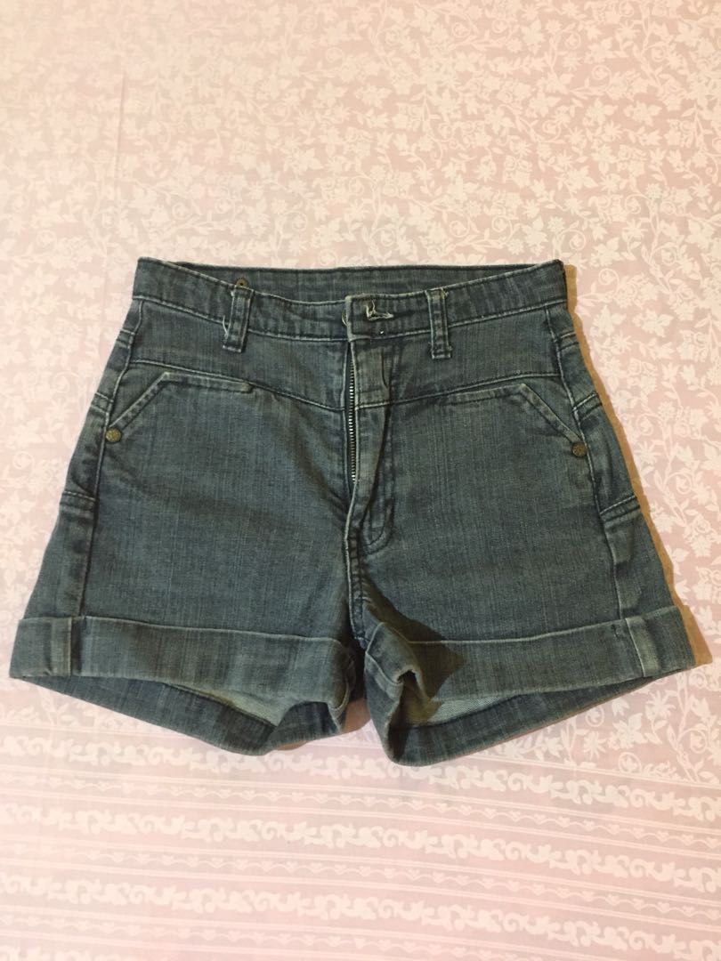 MANGO HIGHWAIST SHORT JEANS
