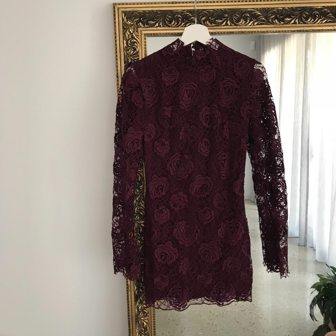 Manning Cartell rambling roses mini dress