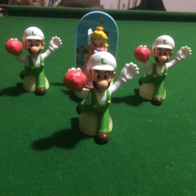 Mario McDonald's toys