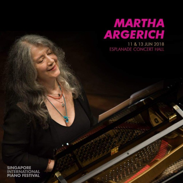 Martha Argerich (Live) Singapore International Piano