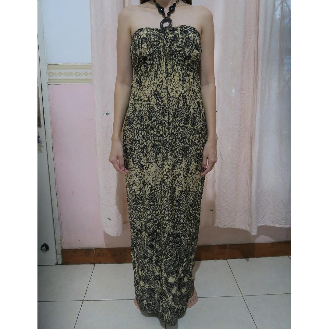 Maxi Dress Motif All Size