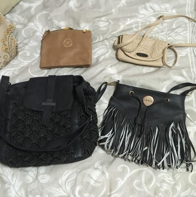 mixed bags - $5 each