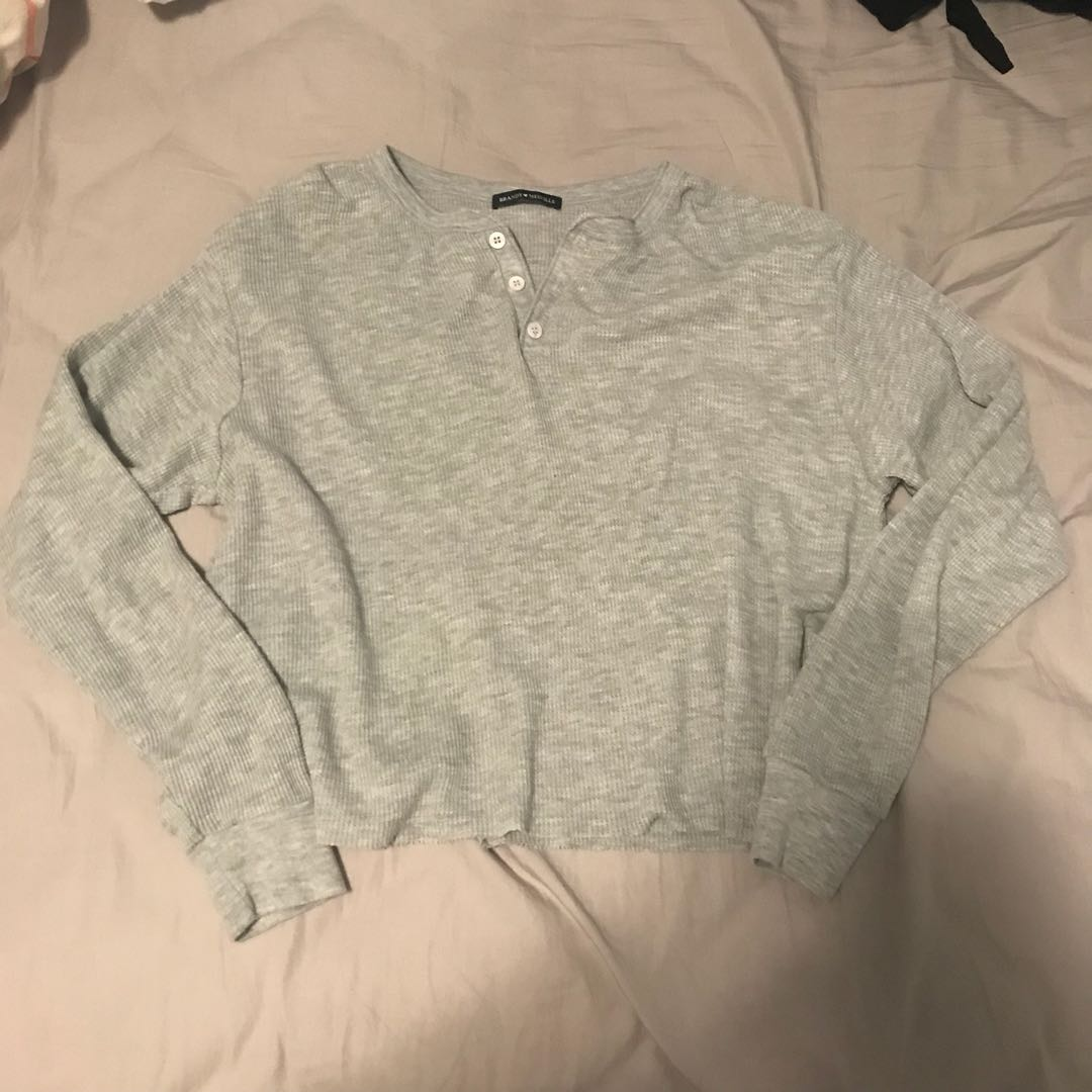 NEW BRANDY MELVILLE THERMAL HENLEY