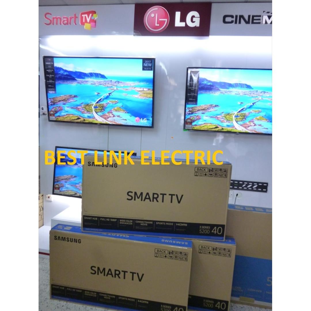 New SAMSUNG 40 Smart TV UA 40J5200 Electronics TVs Entertainment Systems On Carousell