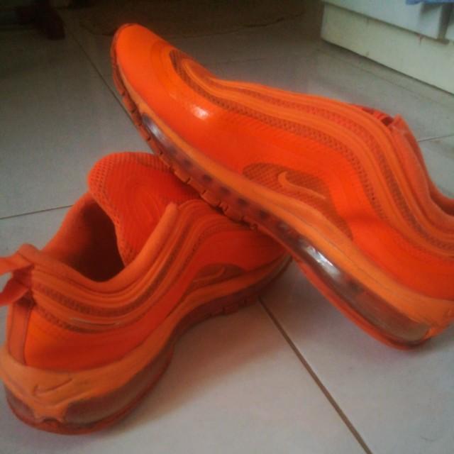 ac81467d51 Nike air max 97 hyperfuse orange, Men's Fashion, Footwear on Carousell