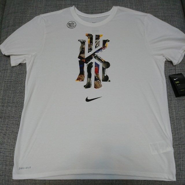 Nike Kyrie 吸濕排汗短袖LOGO圓領T 白